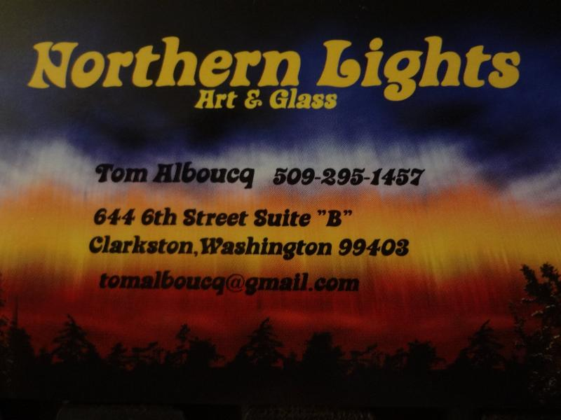 Northern Lights art & glass